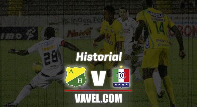 Historial Atlético Huila vs Once Caldas: paternidad del 'blanco blanco'