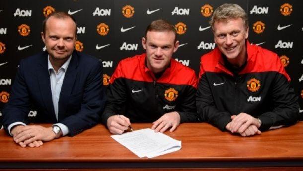 Wayne Rooney prolonge de 4 ans son contrat