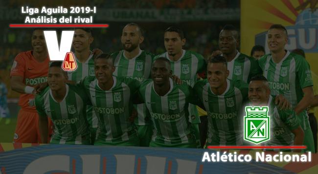Deportes Tolima, análisis del rival: Atlético Nacional