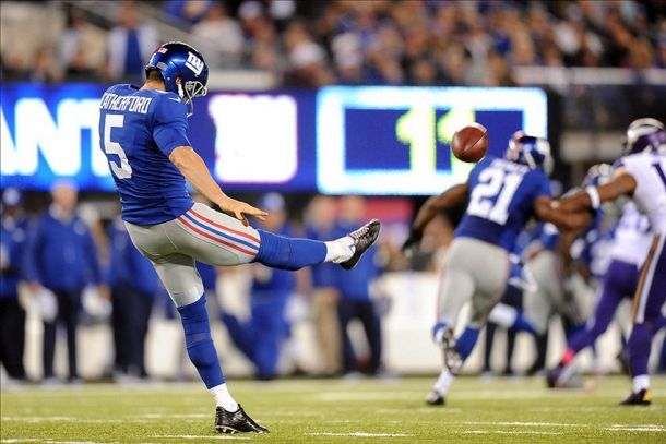 New York Giants Punter Steve Weatherford Calls Out Eagles QBs, Chip Kelly