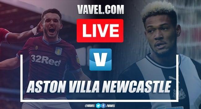 Aston Villa 2-0 Newcastle United as it happened: Grealish dominates as Magpies struggle