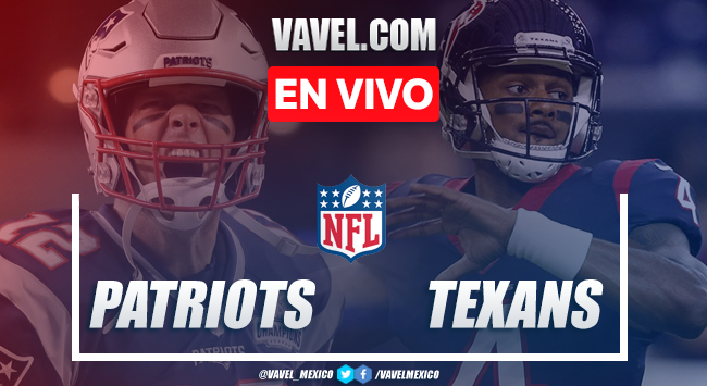 Resumen y touchdowns New England Patriots 22-28 Houston Texans en NFL 2019