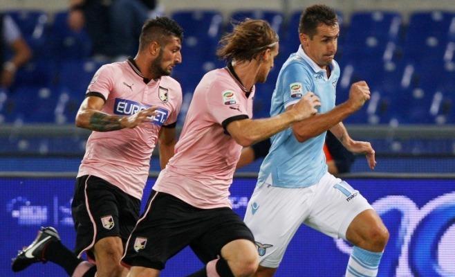 La Lazio golea al Palermo en el Olímpico de Roma