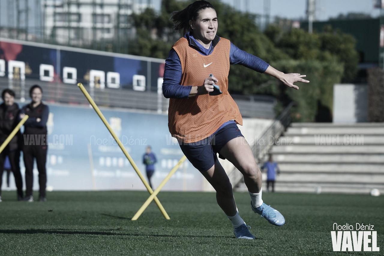 """Mariona: """"Queremos hacer del Johan Cruyff un fortín"""""""
