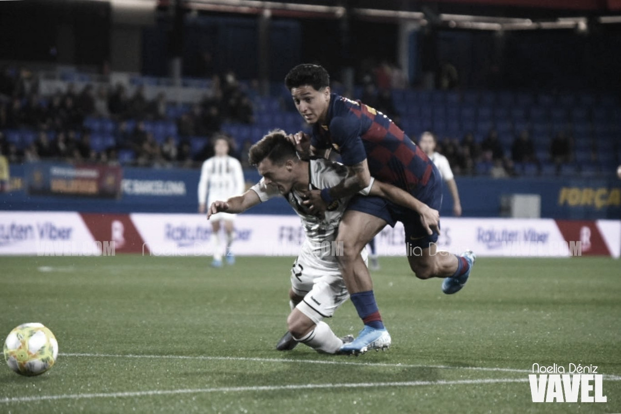 El Barça B remonta ante el Castellón y rompe la imabitilidad del líder