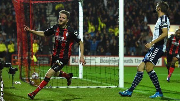 El Bournemouth apea al West Bromwich del sueño de la Capital One Cup