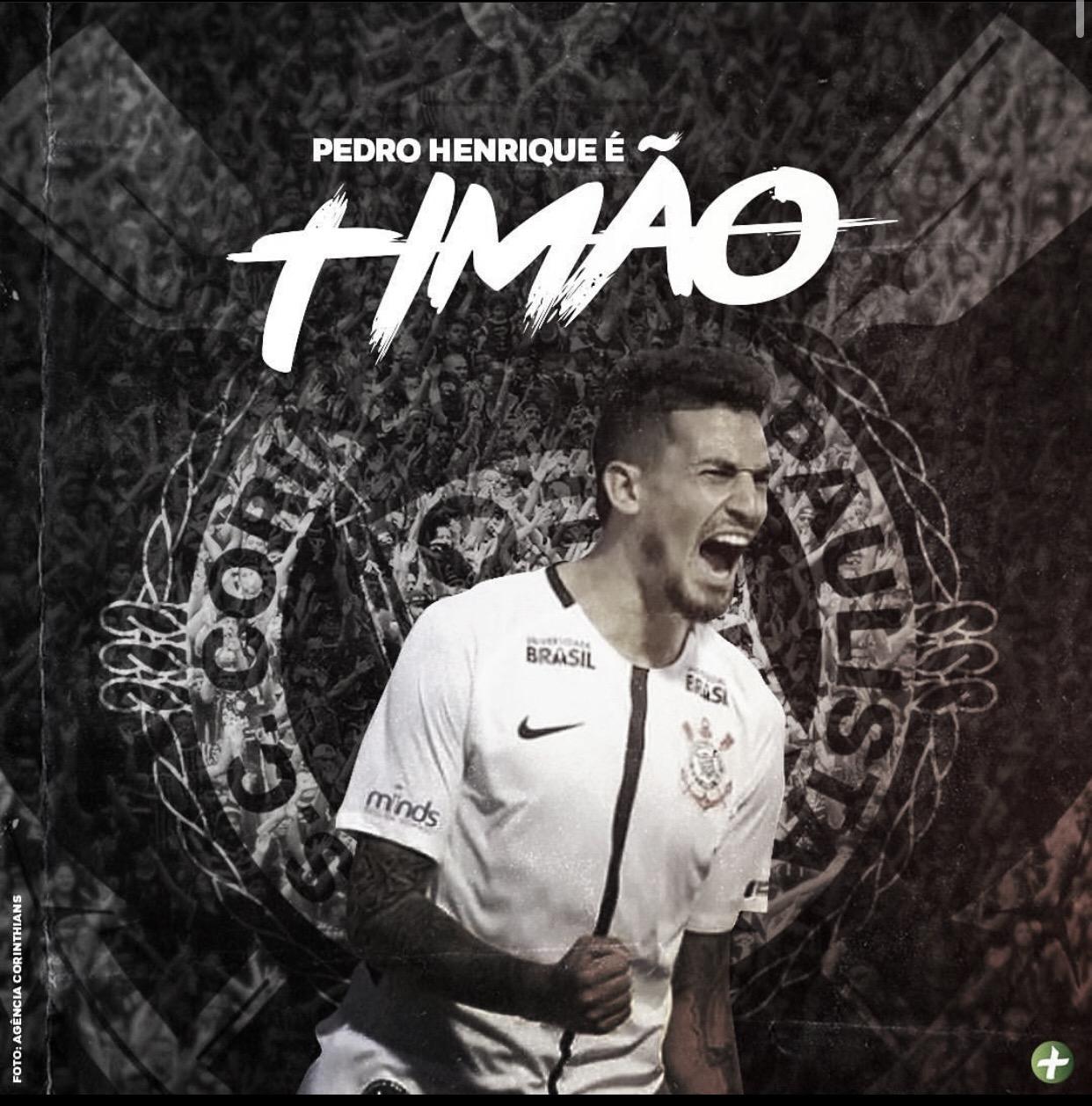 Pedro Henrique anuncia retorno ao Corinthians para temporada 2020
