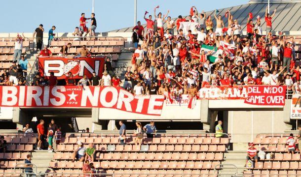 Altercados entre ultras de Granada y Sevilla, previos al partido