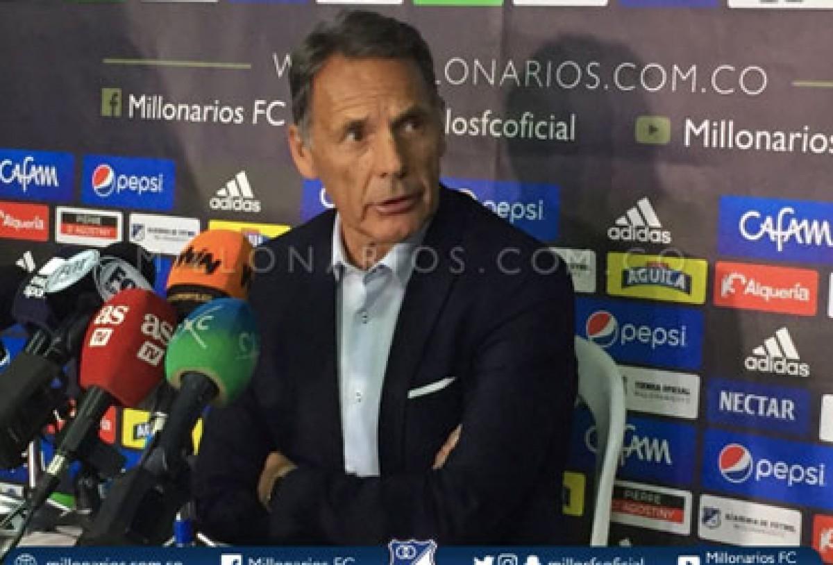"""Miguel Russo: """"espero volver a dirigir pronto a Millonarios"""""""