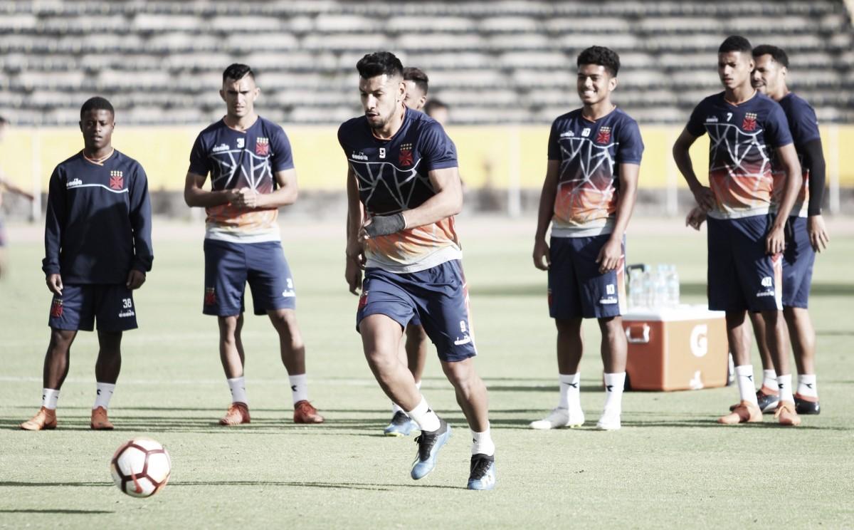 Vasco desafia altitude para encarar LDU pela Copa Sul-Americana