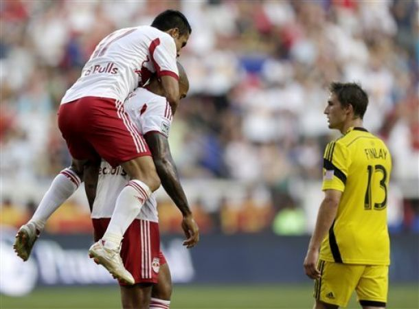 Red Bulls Roll Past Crew 4-1; Henry Sets Records