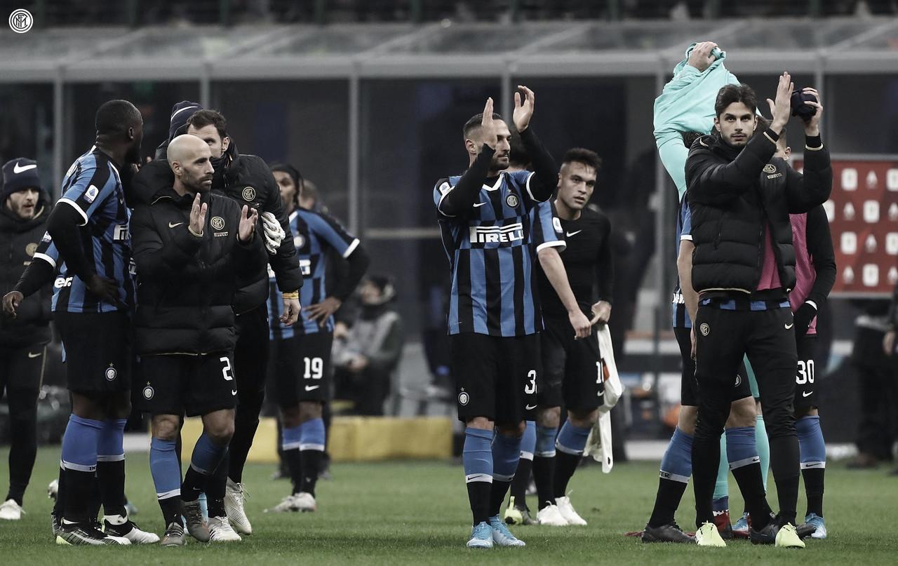 Inter 0-0 Roma: los negriazules comprometen la cima