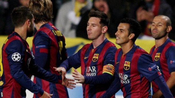 Apoel 0-4 Barcelona: Messi hat-trick secures victory for the Catalans