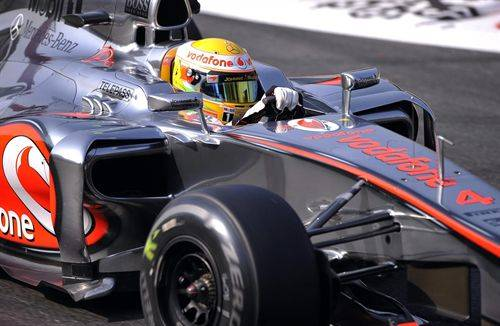 Hamilton lidera los primeros libres del GP de Corea