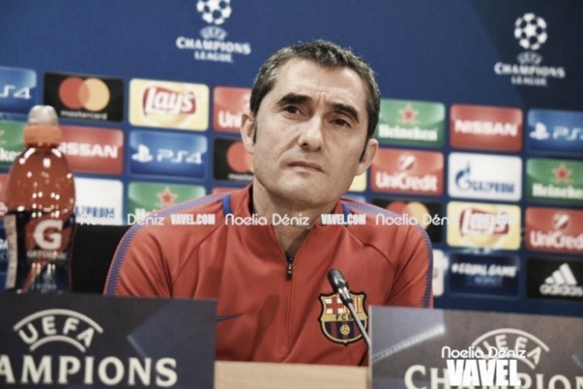 """Ernesto Valverde: """"El partido de Leo ha sido extraordinario"""""""