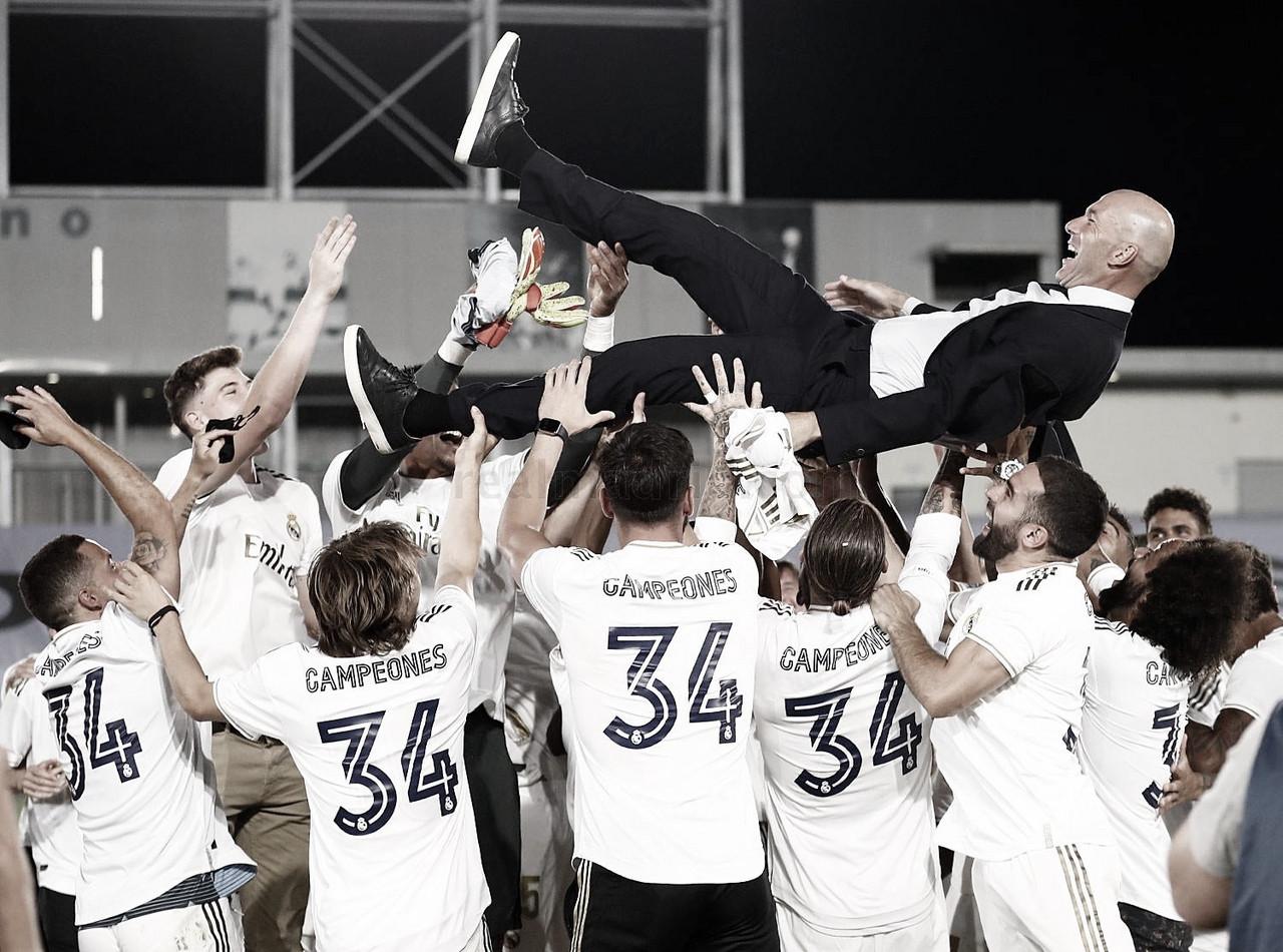 Zidane ya suma 11 títulos como entrenador del Real Madrid