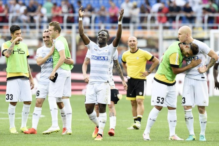 Udinese - Finalmente una prestazione di squadra