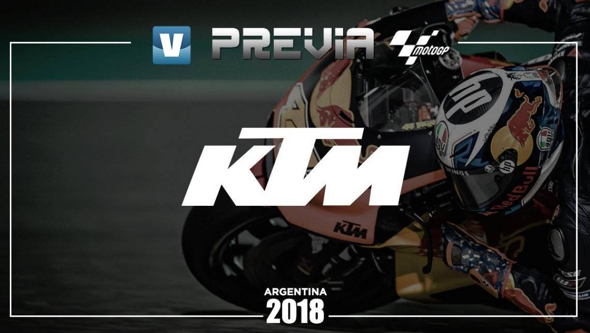Previa KTM GP de Argentina: la búsqueda de soluciones
