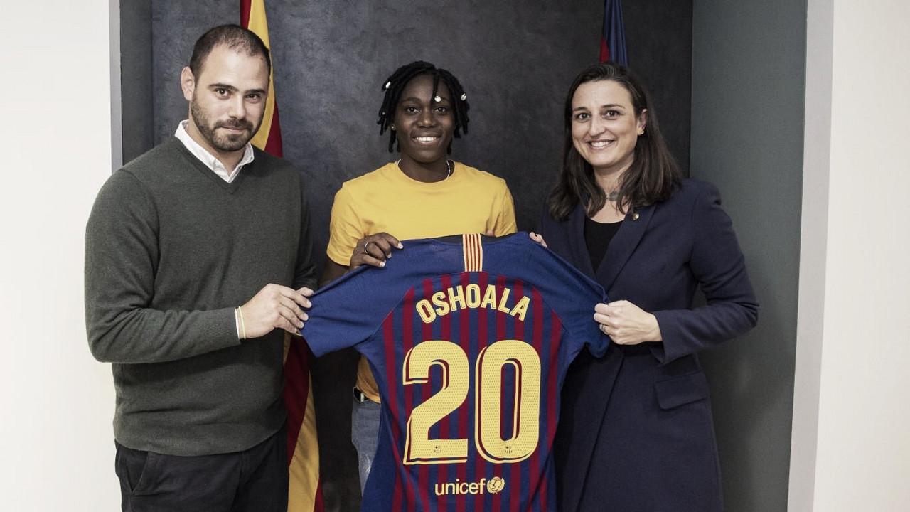 Asisat Oshoala, nuevo refuerzo para el femenino