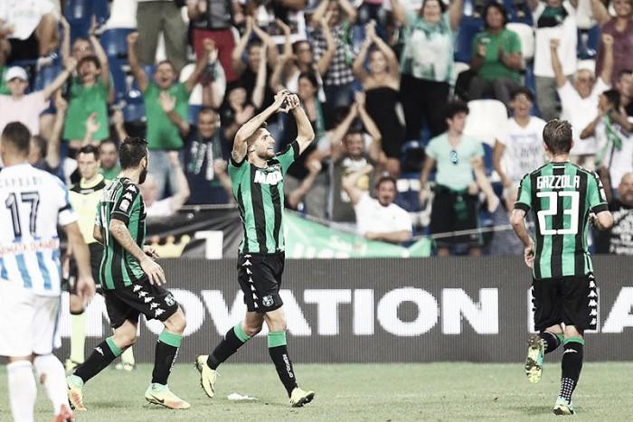 Sassuolo 2016/17: el 'neroverdi' se lleva este año en Europa