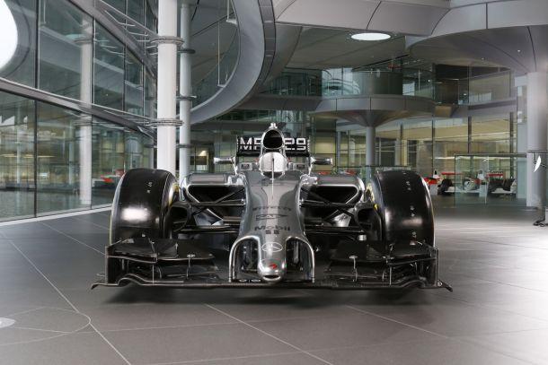 McLaren revela o MP4-29 em Woking, Inglaterra
