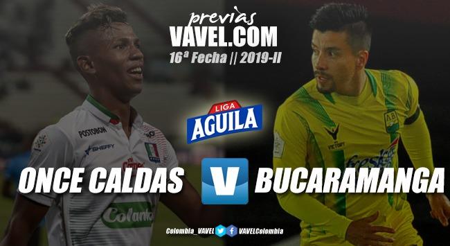 Previa Once Caldas vs. Atlético Bucaramanga: últimas opciones para ingresar a los ocho clasificados