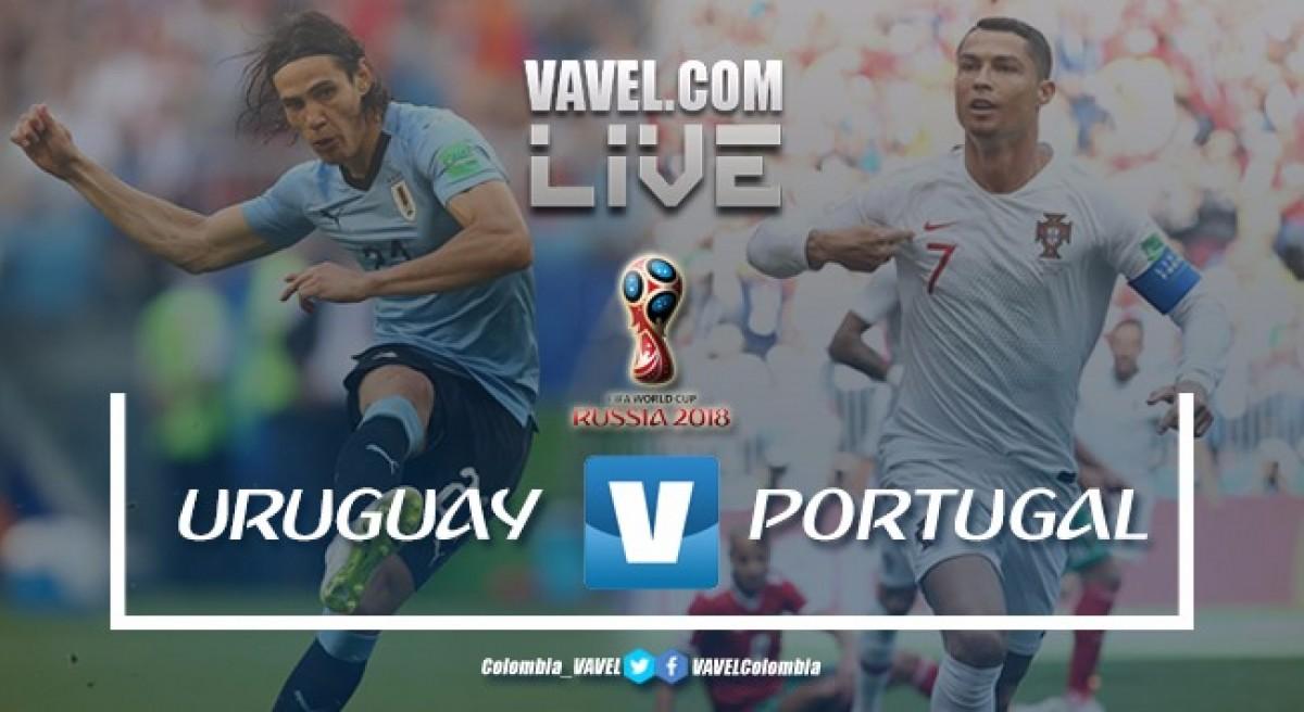Resumen Uruguay vs Portugal (2-1) por la Copa Mundial de la FIFA Rusia 2018