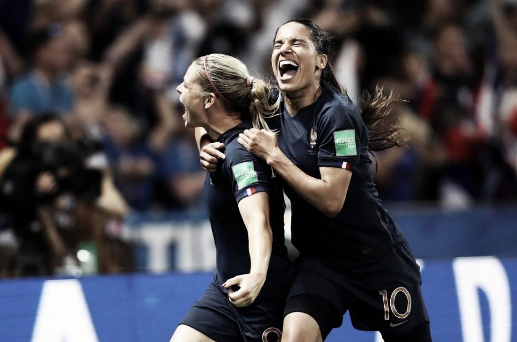 Gol e Melhores Momentos Nigéria x França pela Copa do Mundo Feminina (0-1)