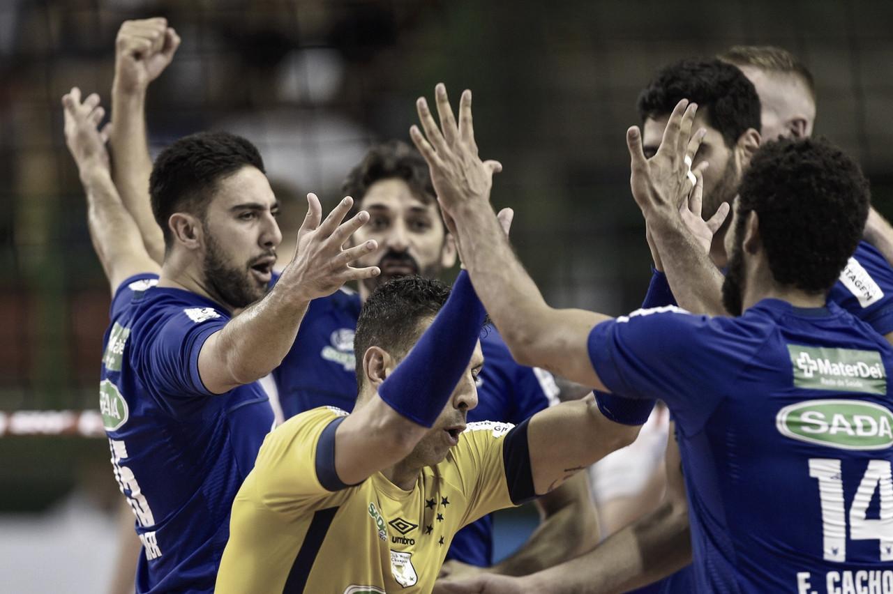Reis da América! Sada Cruzeiro vence UPCN e é hexacampeão Sul-americano
