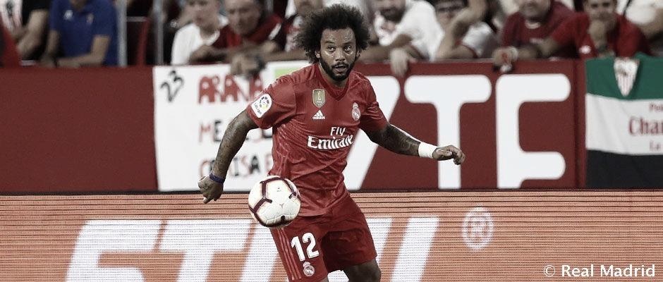 Com lesão na panturrilha, Marcelo desfalcará Real Madrid em clássico contra Atlético