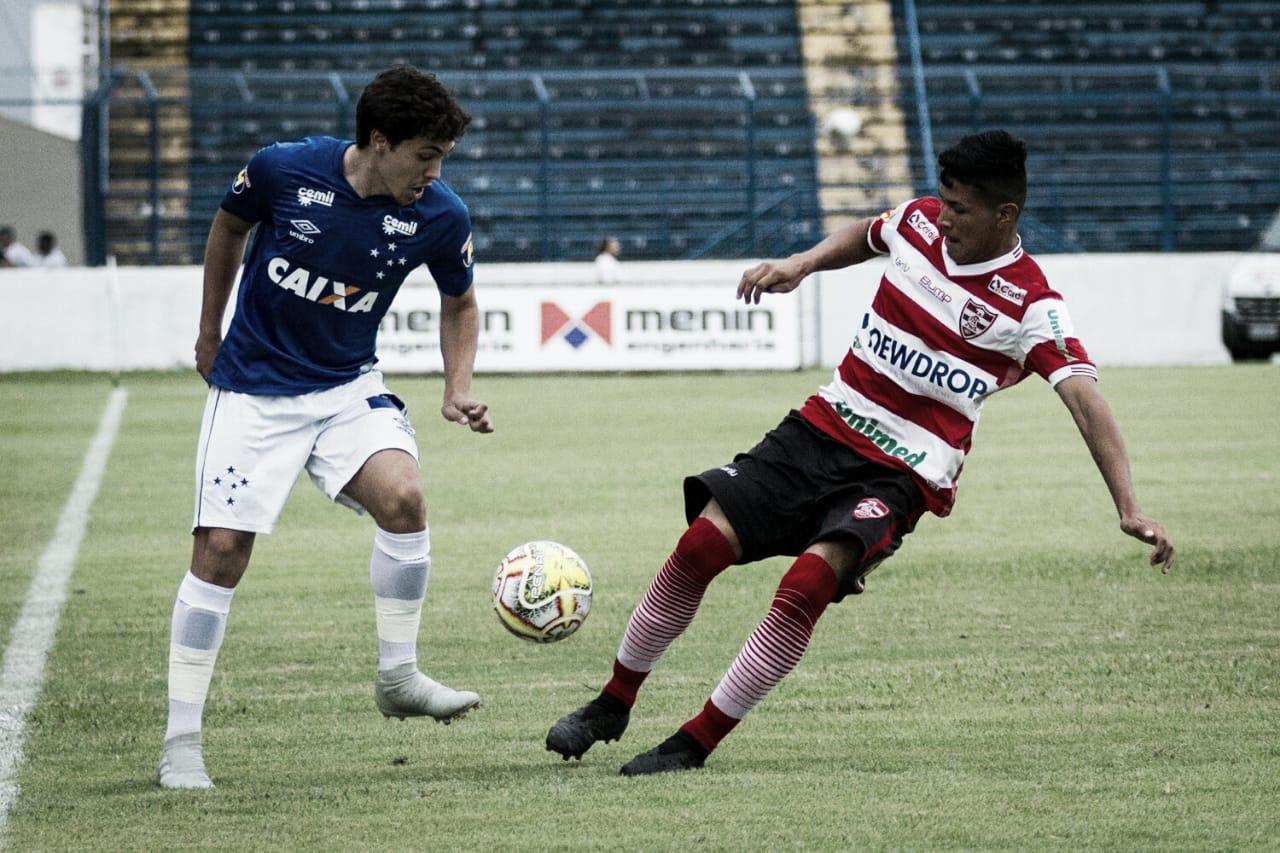 Cruzeiro sai na frente, mas Linense consegue empate na Copinha