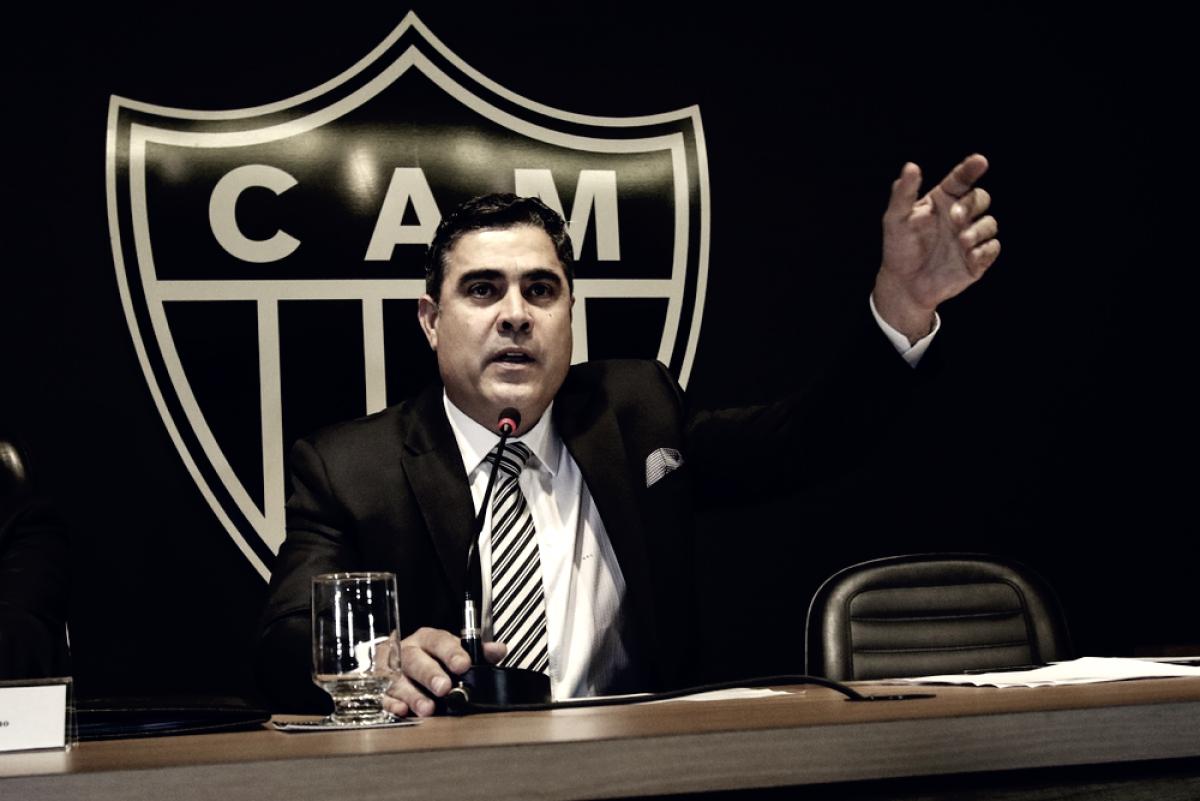 """Presidente do Atlético-MG critica postura do América no clássico: """"Afastaram o torcedor do campo"""""""