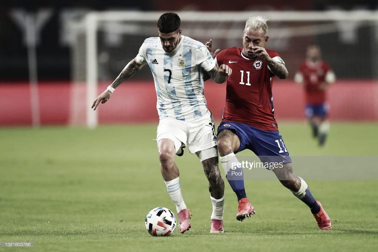 Argentina no logró la victoria ante Chile