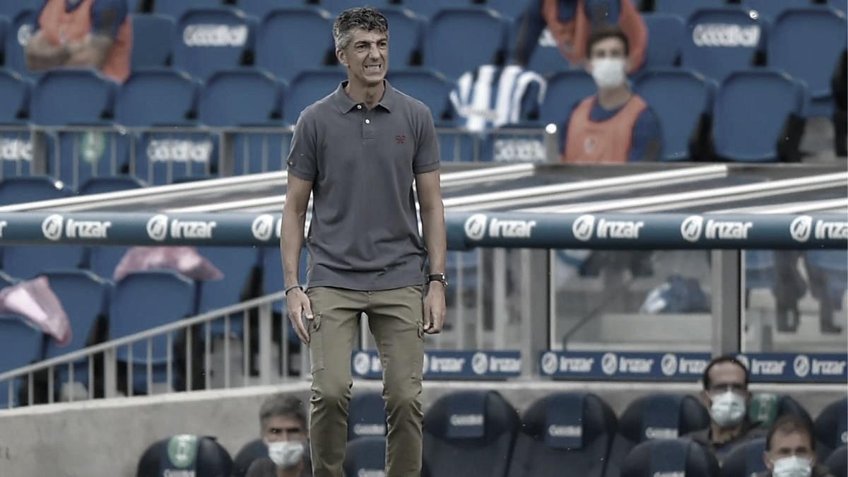 """Imanol Alguacil: """"Estoy más orgulloso que nunca de ser entrenador de la Real y de mis jugadores"""""""