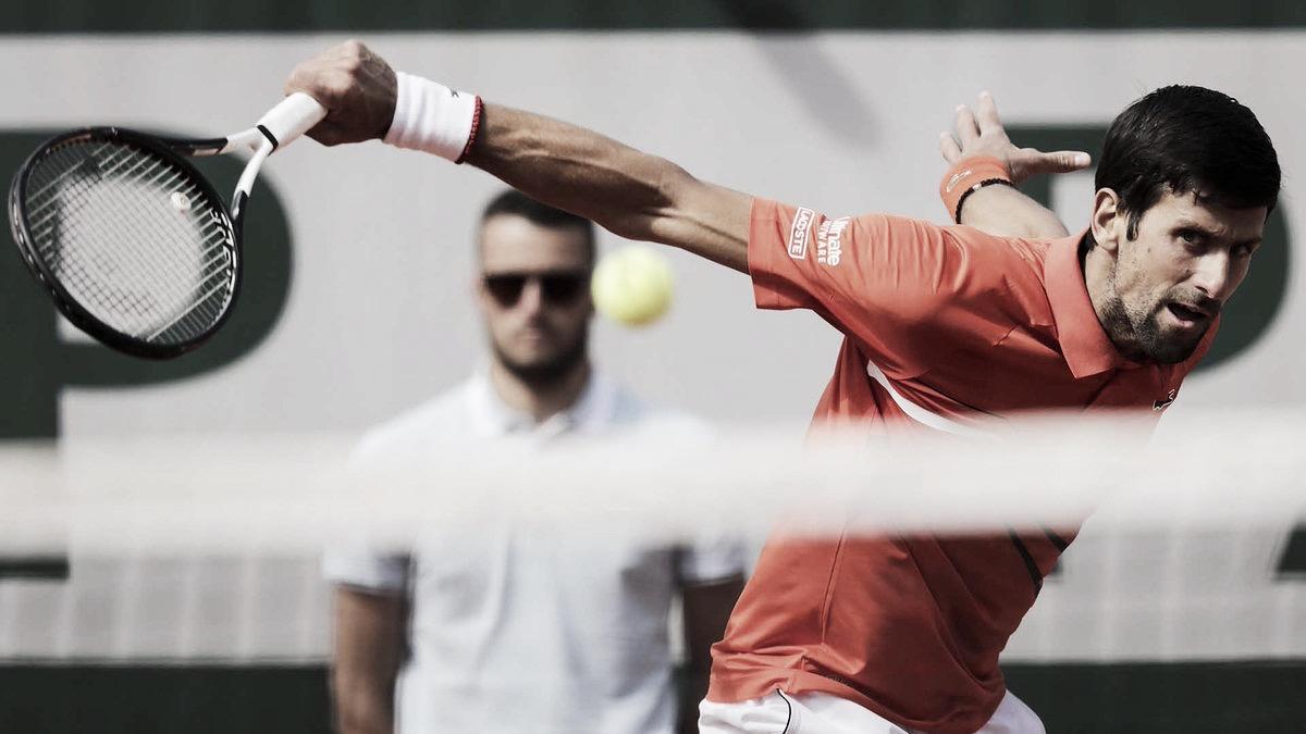 Seguro, Djokovic passa fácil por Hurkacz e avança à segunda rodada em Roland Garros