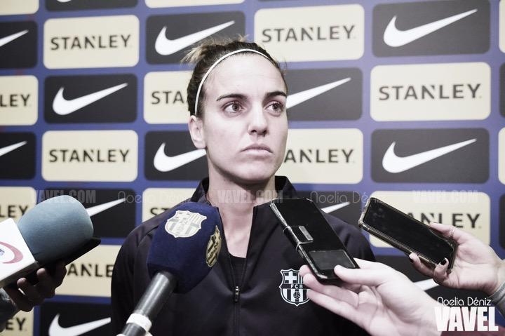 """Melanie Serrano: """"Hay que centrarse en el partido del miércoles y salir a por ello"""""""