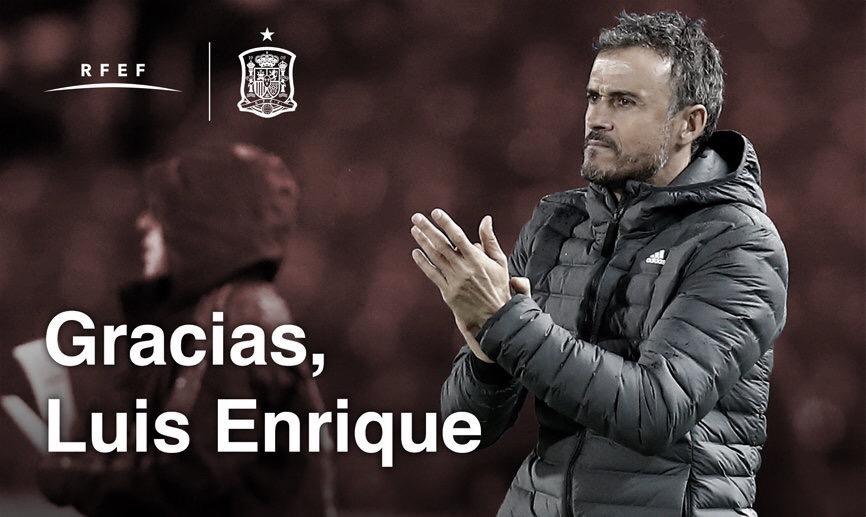 Alegando problemas pessoais, Luis Enrique deixa comando da Espanha