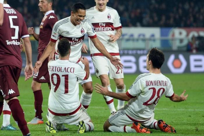 Verso Milan - Torino: vincereper sognare ancora la Champions
