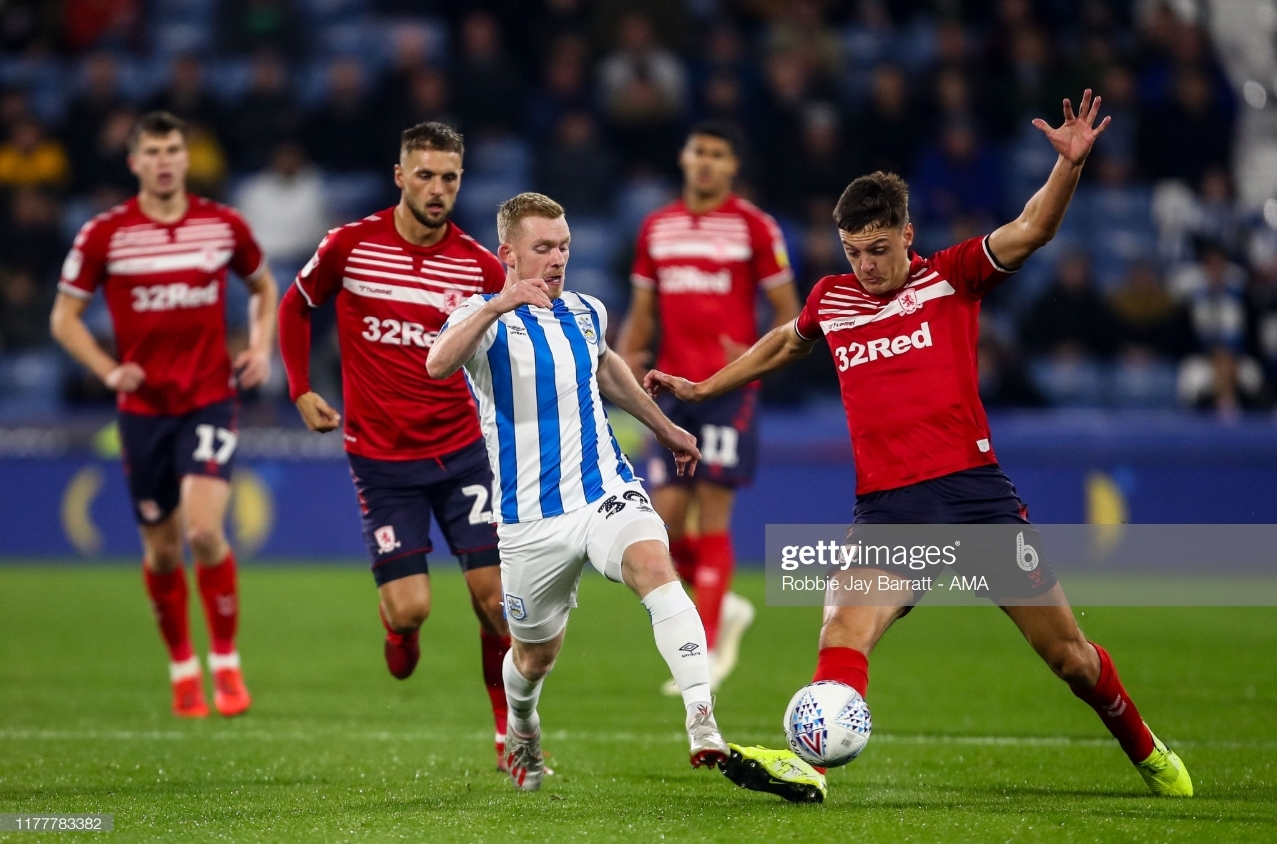 Looking behind Huddersfield Town vs Middlesbrough
