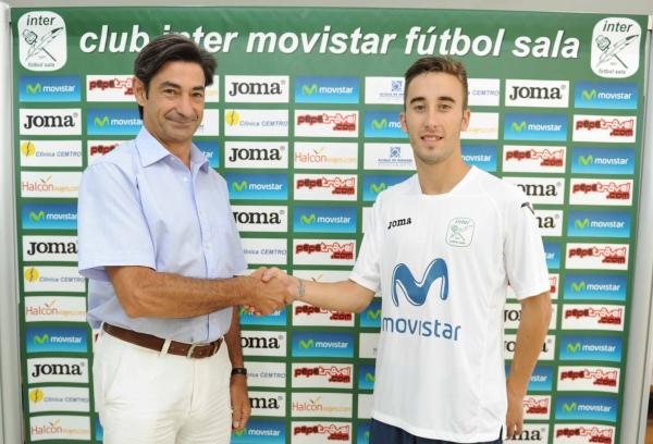 Mario Rivillos, presentado como nuevo jugador de Inter Movistar