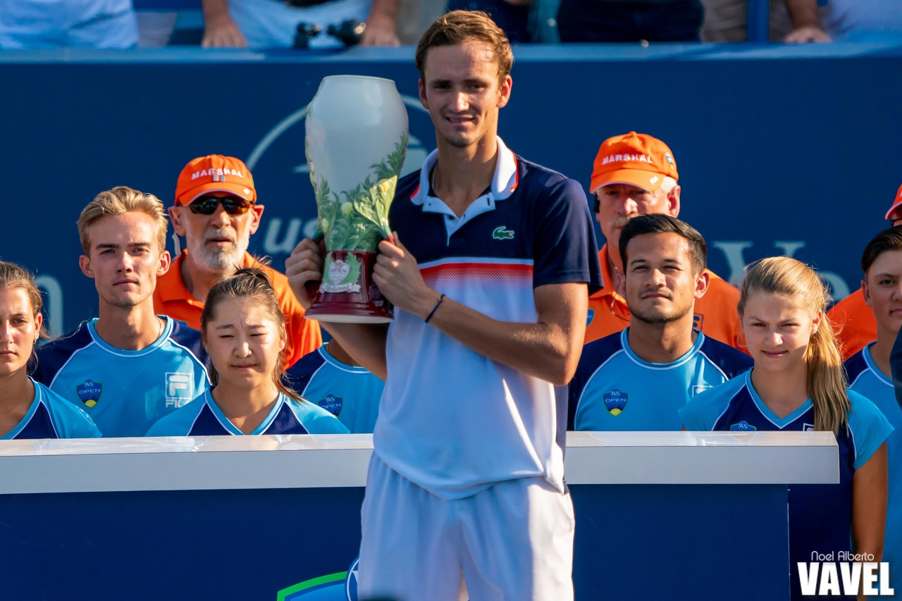 ATP Cincinnati: Daniil Medvedev caps off memorable month with maiden Masters 1000 triumph
