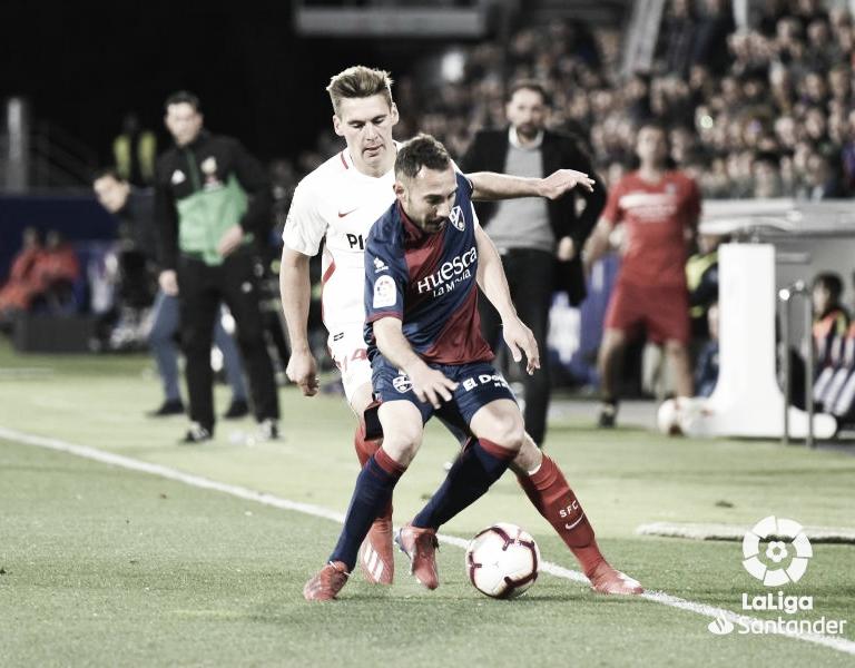 Resumen SD Huesca vs Sevilla FC en LaLiga 2020/2021