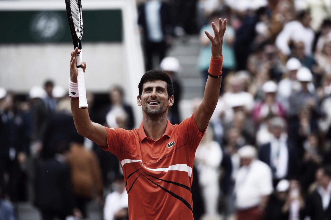 Djokovic domina, passa fácil por Laaksonen e está na terceira rodada de Roland Garros