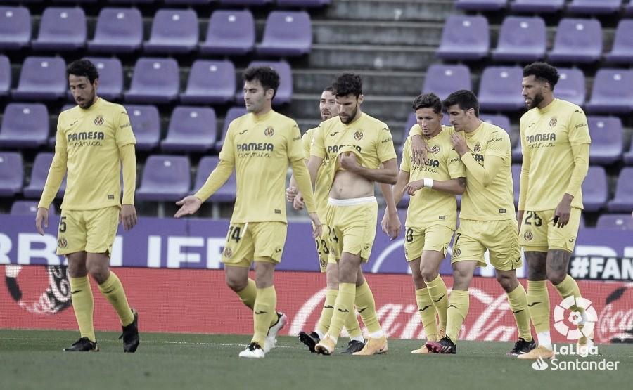 Valladolid 0-2 Villarreal: los amarillos dan un paso adelante