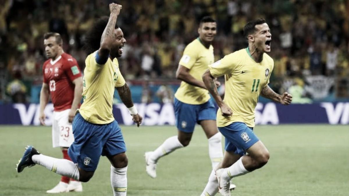 'Suizo' complicado el debut para Brasil