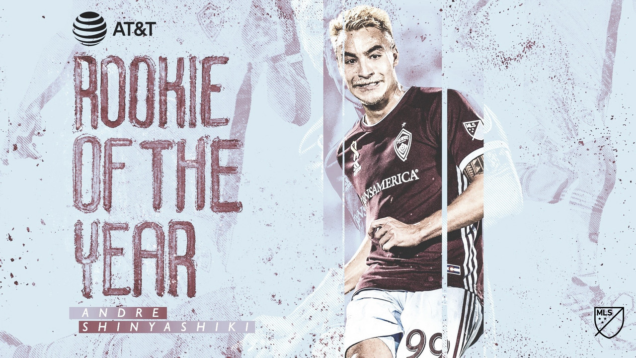 Andre Shinyashiki, MLS Rookie del Año 2019