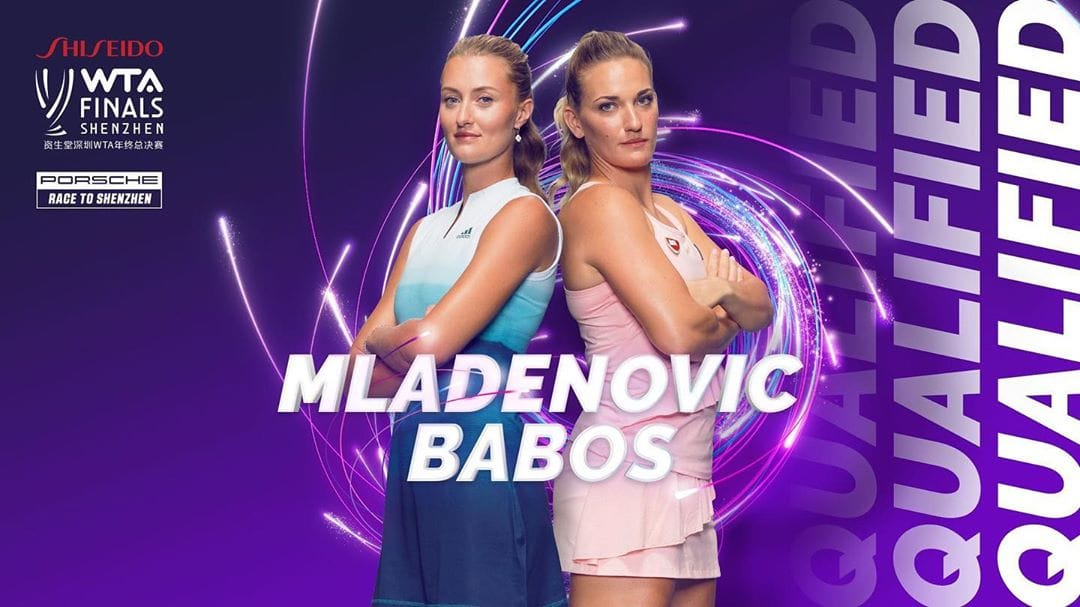 Timea Babos and Kristina Mladenovic qualify for the WTA FInals