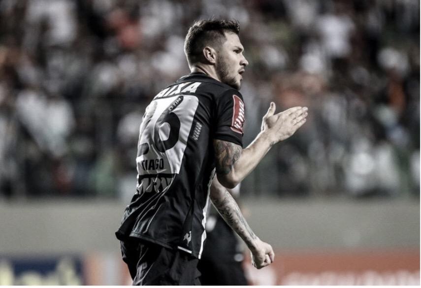 No Ceará, Tiago relembra centésimo gol do Atlético-MG em competições intercontinentais