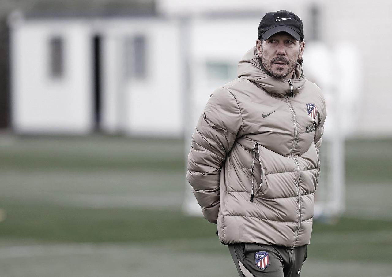 """Simeone: """"Confío muchísimo en mi equipo y en el trabajo que estamos desarrollando"""""""