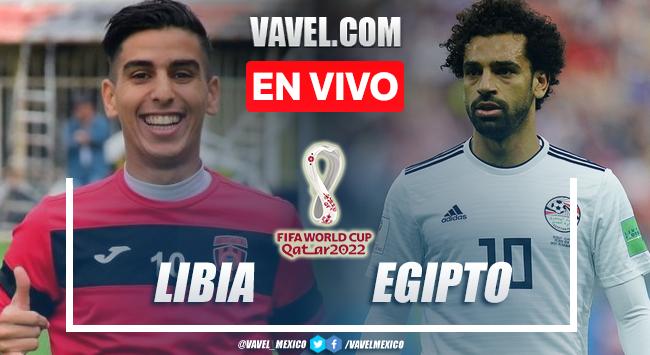 Goles y resumen del Libia 0-3 Egipto en Eliminatorias Qatar 2022